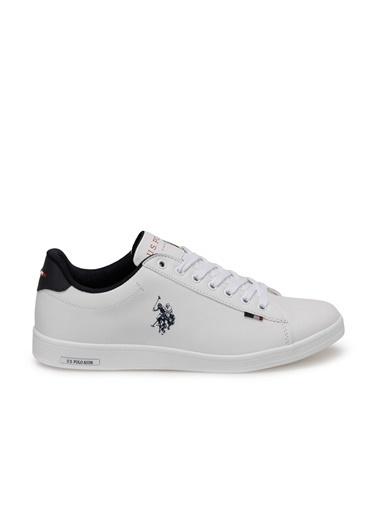U.S. Polo Assn. Erkek Ayakkabı Franco 100548978 Beyaz